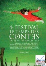 Télécharger la brochure spécifique - Pôle Azur Provence