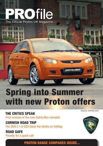 Spring into Summer with new Proton offers - Proton Cars UK