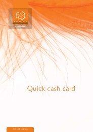 Annex 4 Quick Cash Card.pdf - Global Market Information