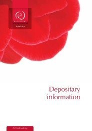 Annex 3 Depositary information.pdf - Global Market Information