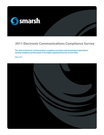 2011 Electronic Communications Compliance Survey