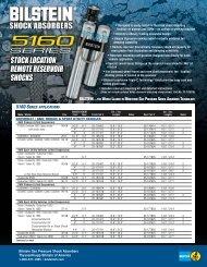 46mm Monotube Shock Absorber Bilstein 24-000024