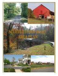 Scuffletown Area Plan Document - Greenville County