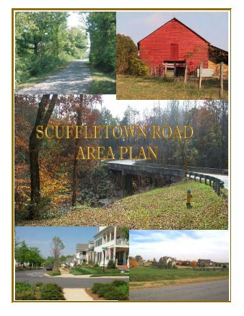Scuffletown Area Plan Document - Greenville County