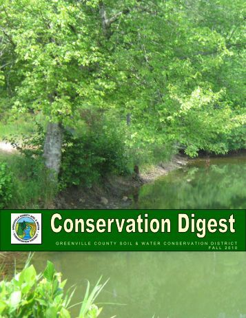 greenville county soil & water conservation district fall 2010