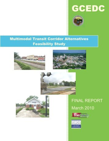Rail Corridor Study Report - Greenville County