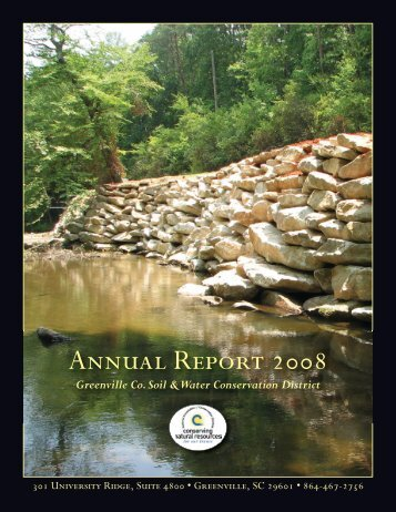 Annual Report 2008 - Greenville County