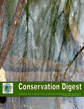 greenville county soil & water conservation district winter 2010-2011