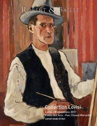 Collection Lovisi - Art Auction Robert