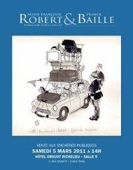 Dessins de Jean Bellus - Art Auction Robert