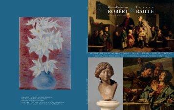 Marie-Françoise F ranck1 roBerT & BaiLLe - Art Auction Robert