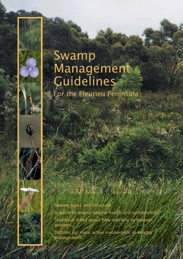 Swamp Management Guidelines - Conservation Council of South ...