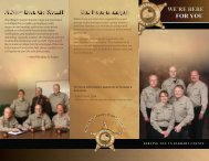 Updated pamphlet - Elkhart County Sheriff's Department