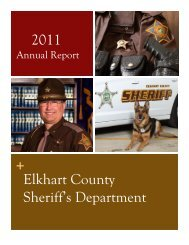 Annual Report - Elkhart County Sheriff's Department