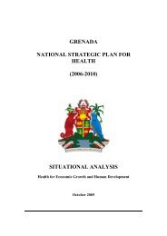 grenada national strategic plan for health (2006-2010) situational ...