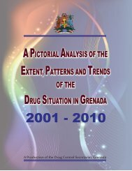 Pictorial Analysis of Drug Situation Grenada 2001 - Government of ...