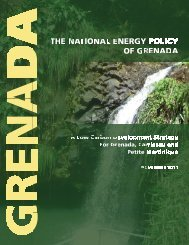 THE NATIONAL ENERGY POLICY OF GRENADA - Government of ...