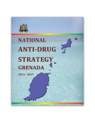 Draft National Anti- Drug Strategy 2012 - Government of Grenada
