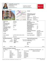full PDF Listing of Property - MONTREAL Real Estate Investors Group