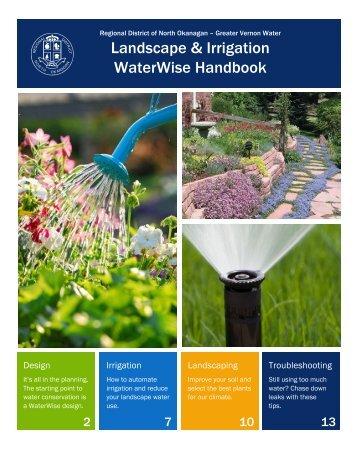 Landscape & Irrigation WaterWise Handbook - Regional District of ...