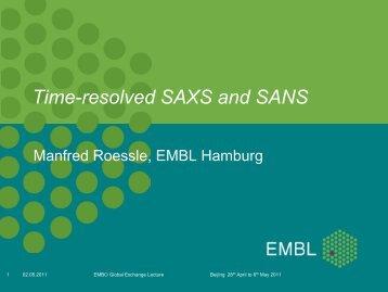 Time-resolved SAXS and SANS - EMBL Hamburg
