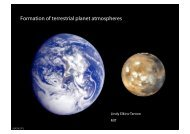 Formation of terrestrial planet atmospheres