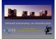 Infrared astronomy: an introduction - School of Physics