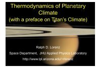 Thermodynamics of Planetary Climate