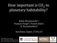 How important is CO2 to planetary habitability?
