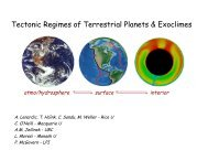 Tectonic Regimes of Terrestrial Planets & Exoclimes