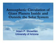 Atmospheric Circulation of Giant Planets Inside and Outside the ...