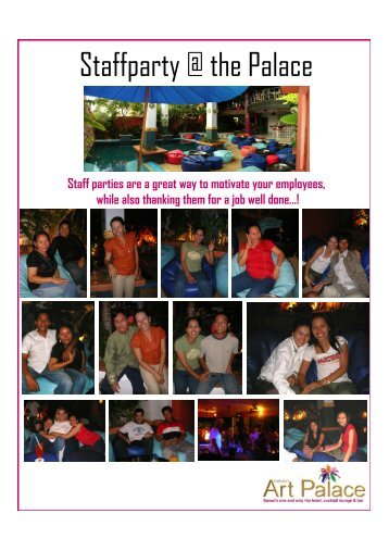 Staffparty @ the Palace - Nathalie's Lifestyle