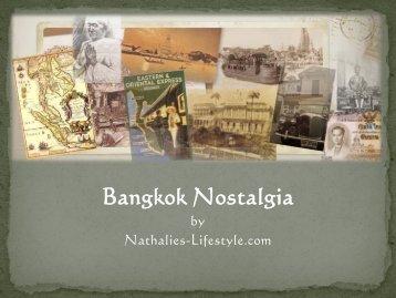 Bangkok Nostalgia - Nathalie's Lifestyle
