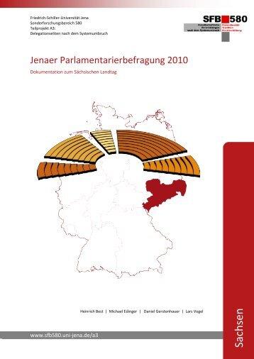 Sachsen - SFB 580 - Friedrich-Schiller-Universität Jena