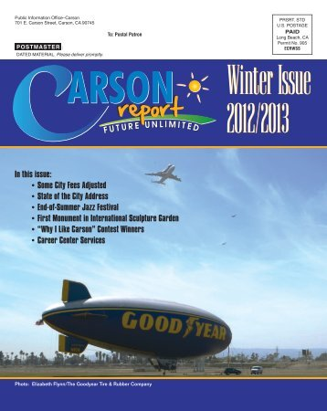 Winter 2012-2013 - City of Carson