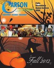 September • October • November - City of Carson