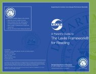 GA Lexile Brochure - GeorgiaStandards.org