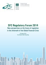 Programme - Securities & Futures Commission of Hong Kong