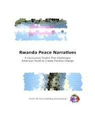 Download Toolkit - Center for Peace Building International