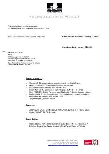 CR NPDC-Picardie - Société Française pour l'Etude et la Protection ...