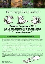 dossier de presse 2011.pub - Le printemps des castors