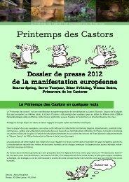 dossier de presse 2012.pub - Le printemps des castors
