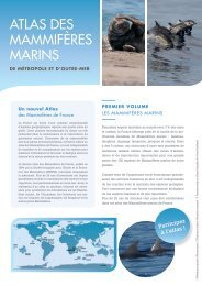 atlas des MaMMiFères Marins - Société Française pour l'Etude et la ...
