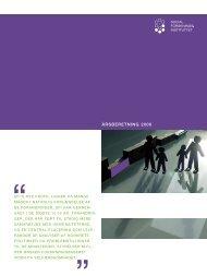 Læs Årsberetning 2006 - SFI
