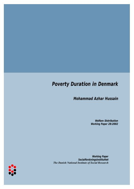 Poverty Duration in Denmark Mohammad Azhar Hussain - SFI