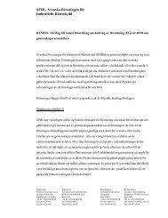 Remiss: Förslag till rådets förordning om ändring av ... - SFIR