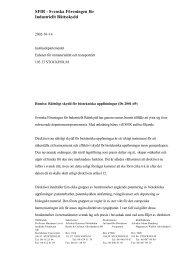 Rättsligt skydd för biotekniska uppfinningar (Ds 2001:49) - SFIR