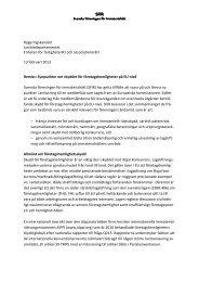 Synpunkter om skyddet för företagshemligheter på EU-nivå - SFIR