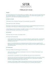 Förslag till nya st#295204B.DOC - SFIR