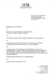 Protokoll från föreningsstämma i Svenska Föreningen för ... - SFIR